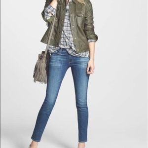 """AG The Stilt Cigarette Leg Skinny Jeans 31R 26"""""""